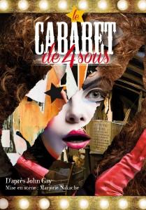 Affiche Cabaret de 4 sous